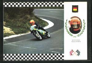 AK No. 4 Serie Gran Prix, Dieter Draun auf Moto Maico 56 CV
