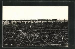 AK Frith Hill, Deutsche Kriegsgefangene im Lager