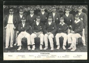 AK Leeds, Mitglieder des Cricket-Teams