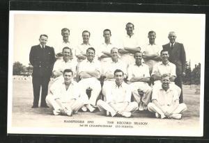 AK Winchester, Mitglieder des Cricket-Teams 1955