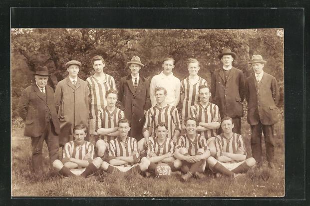 Foto-AK Hereford, Fussball-Team St. Margarets Institute FC 1922 0