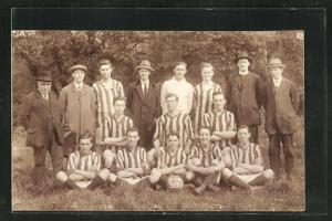 Foto-AK Hereford, Fussball-Team St. Margarets Institute FC 1922