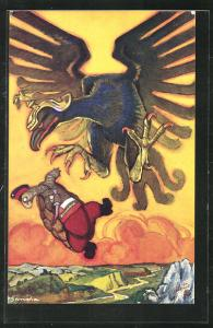 AK Bulgaria, The Tortoise and the Eagle, Propaganda Entente