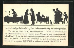 AK Rijksverzekeringsinstelling Berlijn, Geneeskundige behandeling der ziekenverzekering in ziektegevallen