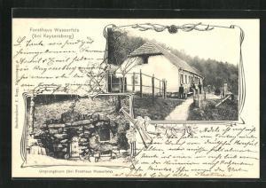 AK Kaysersberg, Forsthaus Wasserfels, Ursprungbrunn