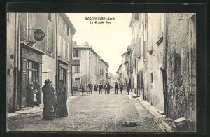 AK Roquemaure, La Grande Rue