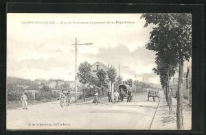 AK Rosny-sous-Bois, Rue de Fonteney et avenue de la Republique
