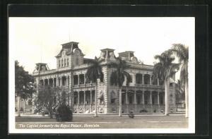 AK Honolulu, HI, The Capitol formerly the Royal Palace