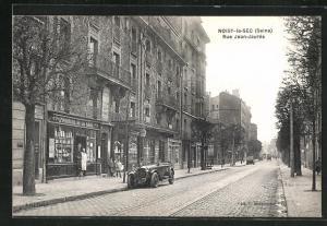 AK Noisy-le-Sec, Rue Jean-Jaures, Imprimerie de la Gare