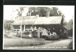 AK Zanesville, OH, Headley Inn, Historical Stage Coach Tavern, since 1802