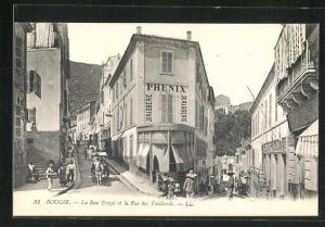 AK Bougie, La Rue Trezel et la Rue des Vieillards