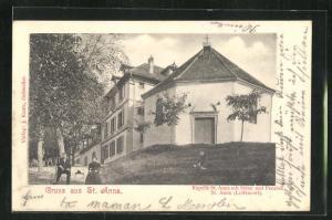 AK St. Anna, Kapelle St. Anna mit Hotel und Pension