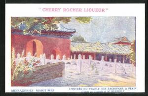 AK Pekin, l`Entree du Temple des Sacrifices
