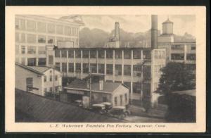 AK Seymour, CT, Waterman Fountain Pen Factory