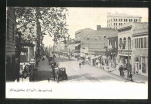 AK Broughton, GA, Street-Savannah