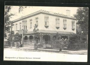 AK Sherman-Savannah, GA, Headquarters of the Gerneral
