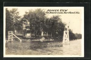 AK Hartland, WI, Beaver View on Beaver Lake