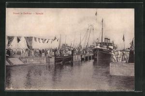 AK Karachi, Vessel in Harbour