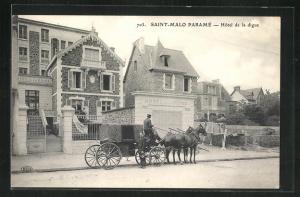 AK Saint-Malo Paramé, Hotel de la Digue