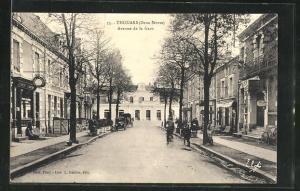 AK Thouars, Avenue de la Gare