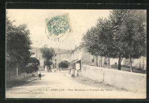 AK Souillac, Place Bernichou et Entrepot des Tabacs