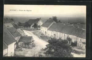 AK Ruffey, Place de l`Eglise