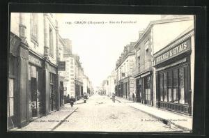 AK Craon, Rue du Pont-Neuf