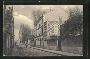 AK Rennes, Villa Fontaine, Rue Jules Simon 10+12