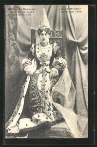 AK St-Brieuc, la Duchesse Anne de Bretagne, Fête historique 1906