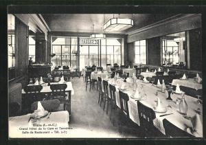 AK Blois, Grand Hotel de la Gare et Terminus, Salle de Restaurant
