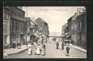 AK Ault, La Grande Rue, Häuserfassaden
