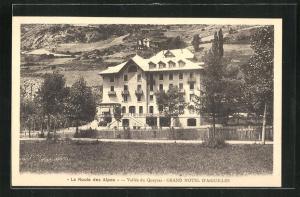 AK Aiguilles, Grand Hotel d`Aiguilles mit Umgebung