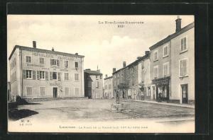AK Lempdes, La Place de la Mairie