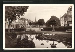 AK Chatellerault, Jardin Public et Boulevard Blossac