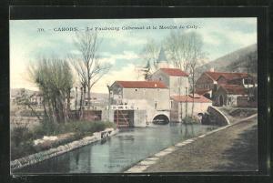 AK Cahors, Le Faubourg Cabessut et le Moulin de Coty