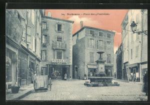 AK Narbonne, Place des 4 Fontaines