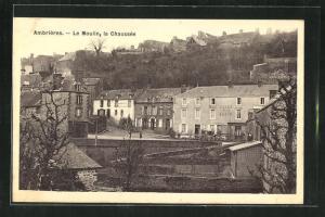 AK Ambrieres, Le Moulin, la Chaussee