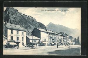 AK Modane, Gare et les Forts du Replaton