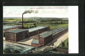 AK Pawtucket, RI, Royal Weaving Co`s Mills