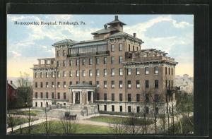 AK Pittsburgh, PA, Homeopathic Hospital