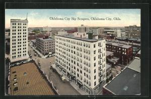AK Oklahoma City, OK, Sky Scapers
