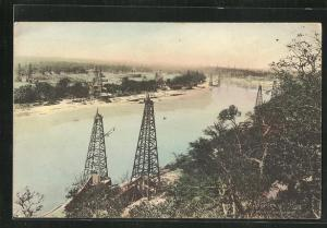 AK Tulsa, OK, Oil Scene on Ammaron River