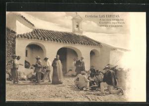 AK Cordoba, Las Ermitas, A las doce del dio los Ermitanos repartiendo comida a los pobres