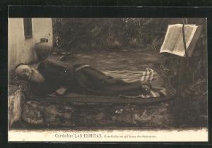 AK Cordoba, Las Ermitas, Ermitano en su hora de descanso
