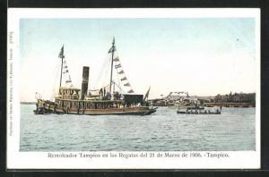 AK Tampico, Remolcador en las Regatas 1906