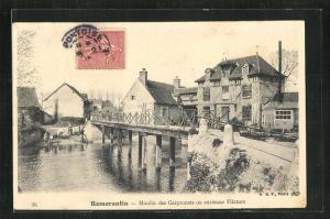 AK Romorantin, Moulin des Garconnets ou ancienne Filature