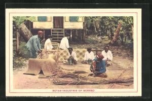 AK Borneo, Rotan-Industrie