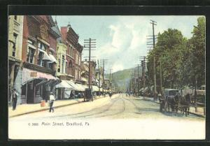 AK Bradford, PA, Main Street