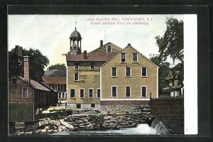 AK Pawtucket, RI, Old Slater Mill