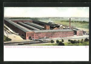 AK Pawtucket, RI, Howard Bullough American Machine Co. Ltd.